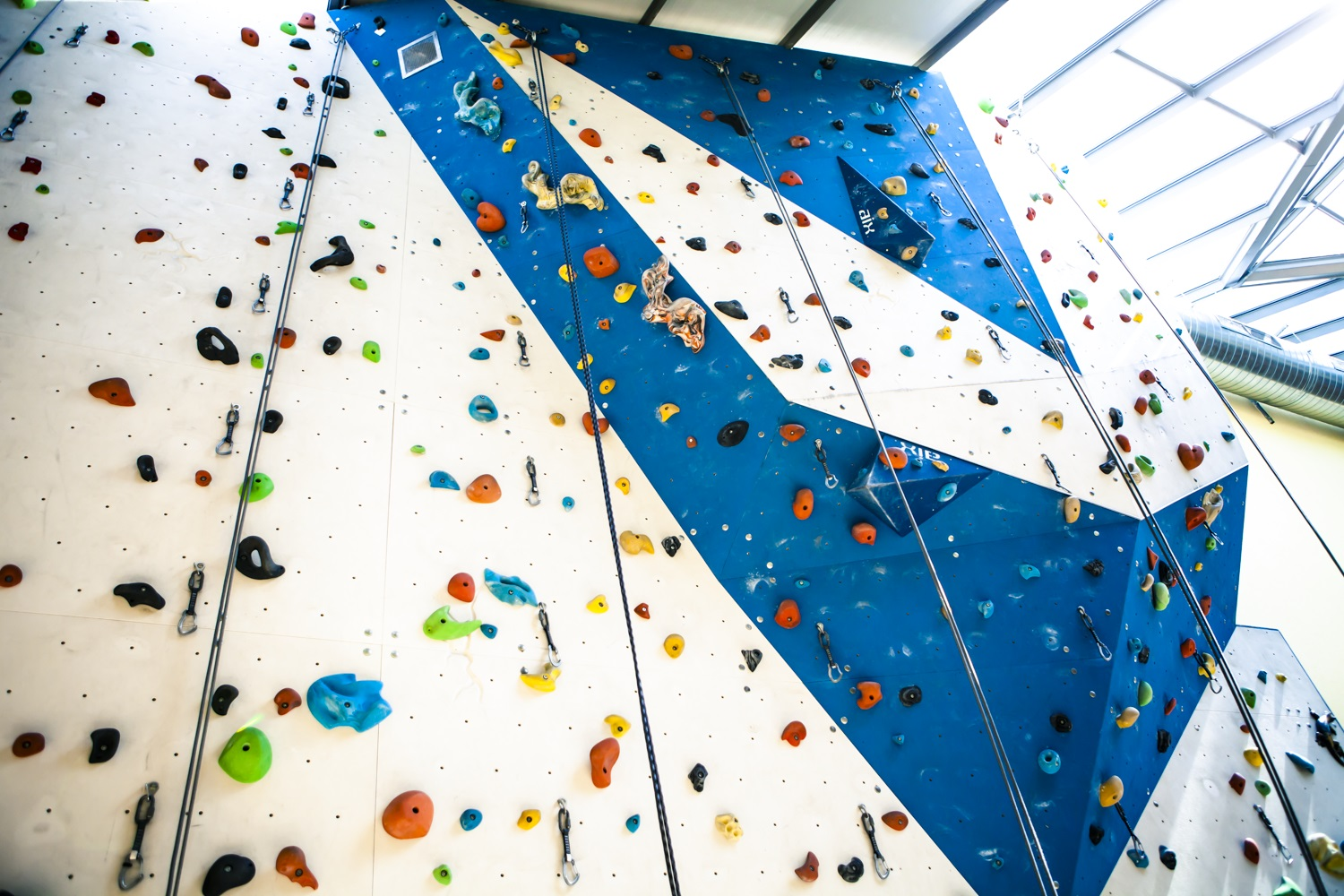 Indoor-Kletterwand
